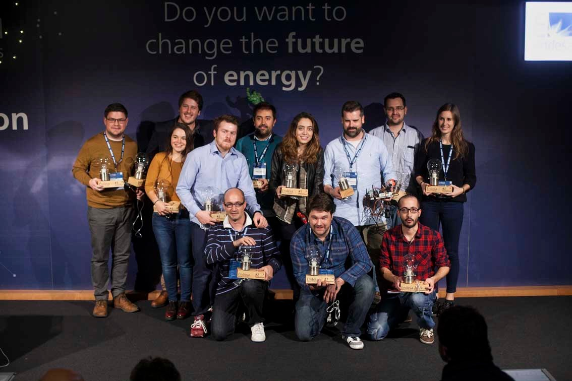 the winners of the prizes of the first edition of Hackathon