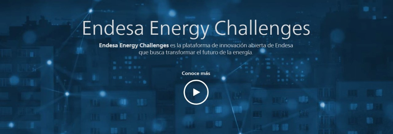Screenshot of the video presentation of Endesa Energy Challenges