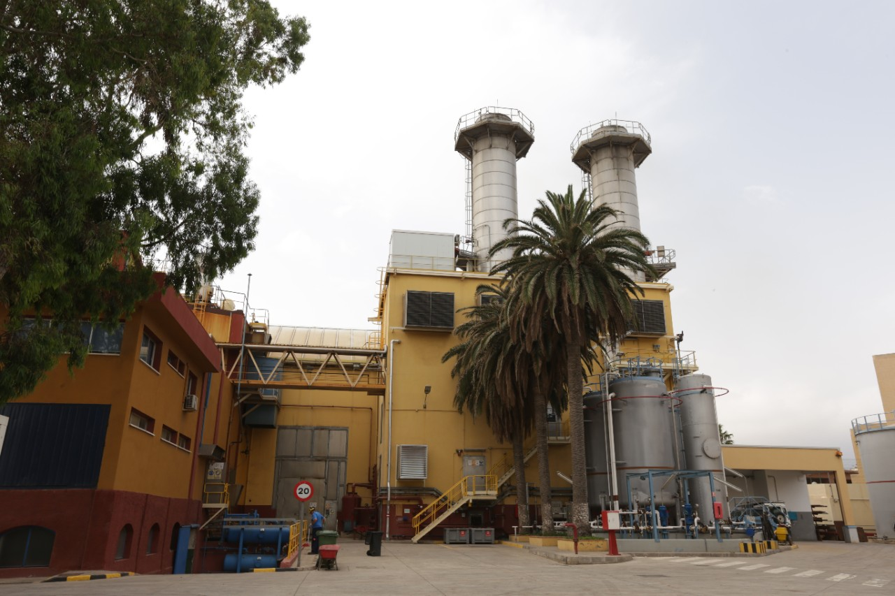 Thermal power station in Melilla