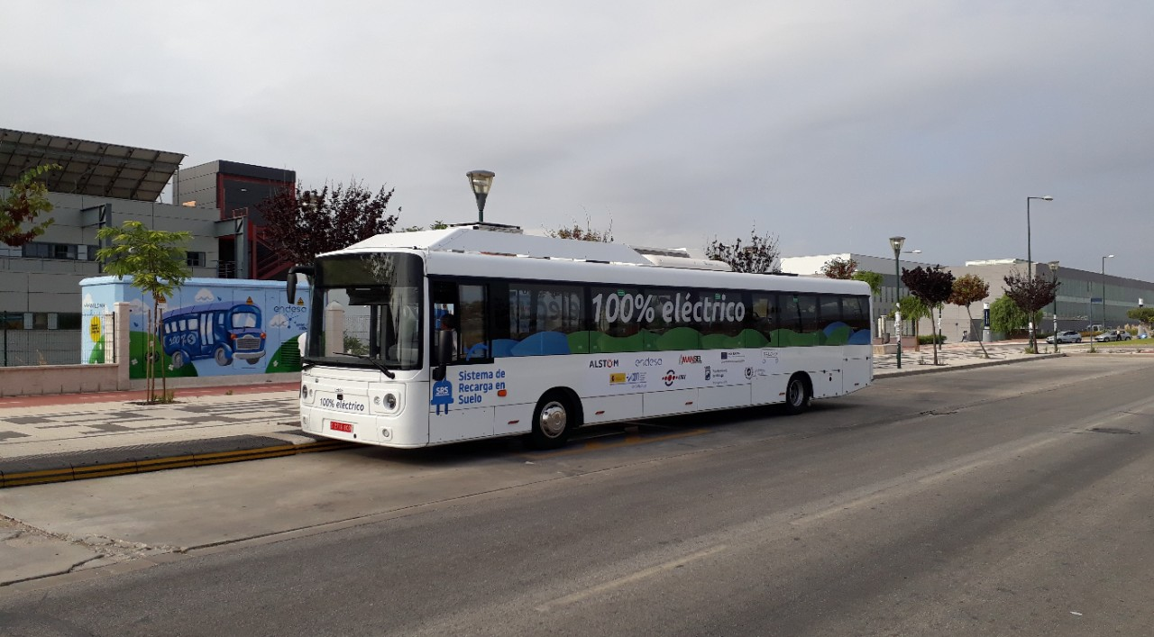 Fast charging system for electric buses
