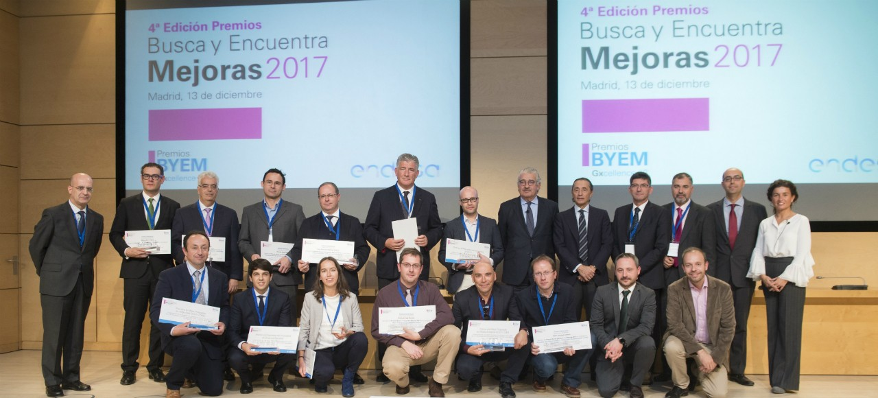 The winners of the BYEM 2017 Awards.